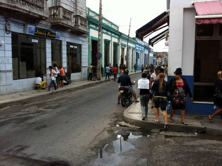 Cuban street scene