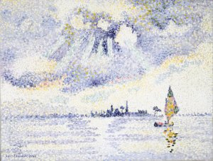 Henri Edmond Cross, Sunset on the Lagoon