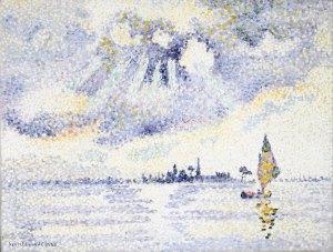 Henri Edmond Cross, Sunset on the Lagoon
