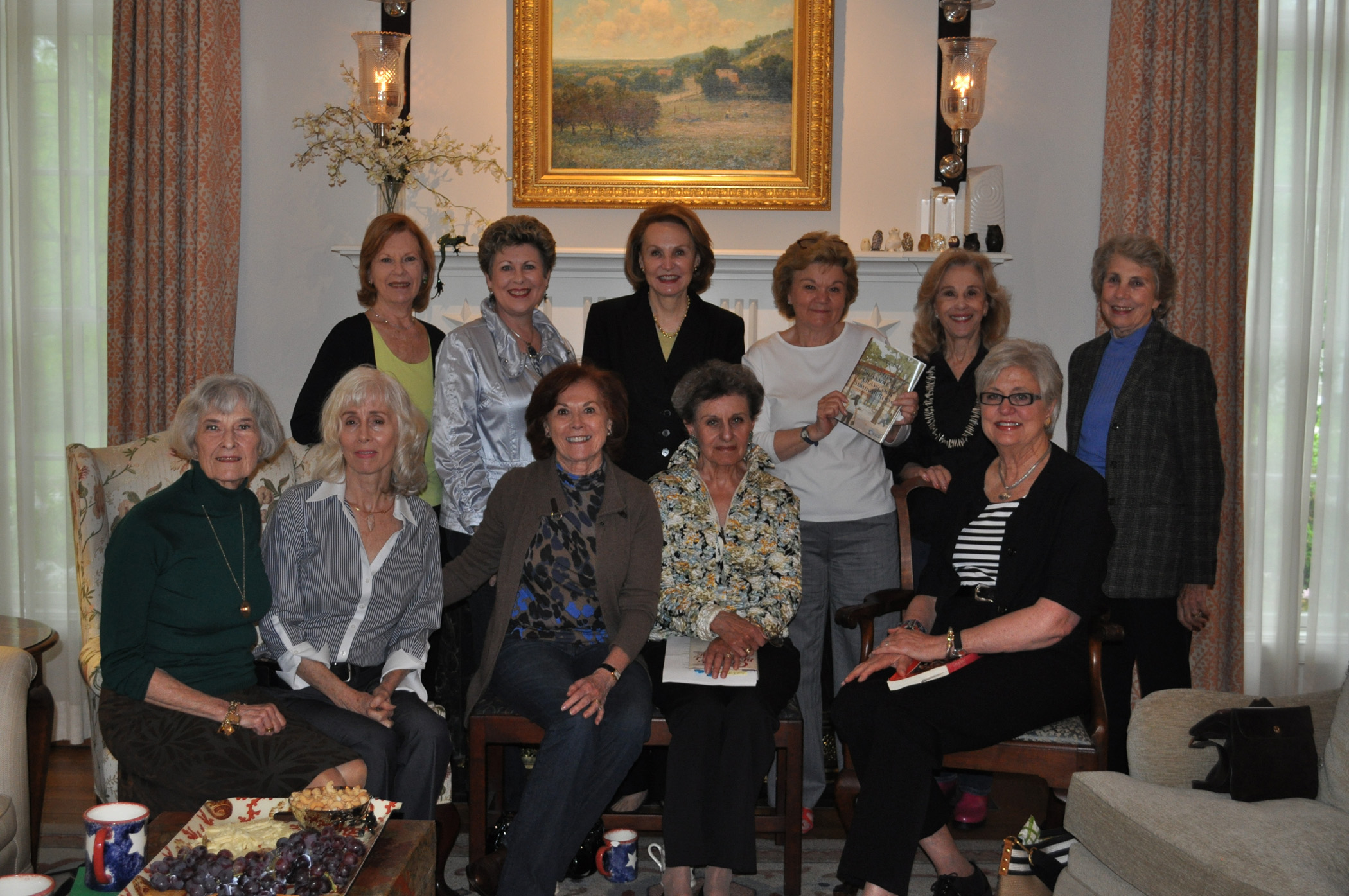 Group photo of The Book Club, March 2012