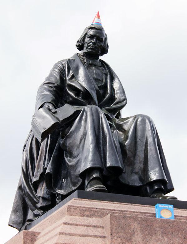 William Rice Statue