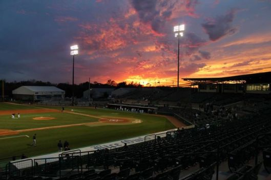 "Lance Carter, photographer, ""Reckling Park at Sunset,"" Rice University ,2012"