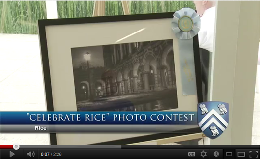 Celebrate Rice Photo Contest Video