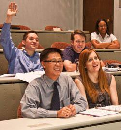 Rice CFP® classroom