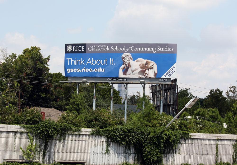 Think About it Billboard