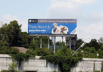 Think About it Billboard