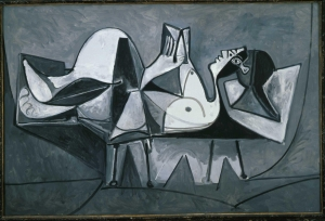 Picasso - Reclining Woman Reading