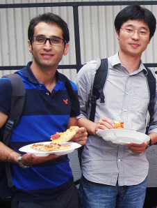 ESL Pizza Party Summer 2013