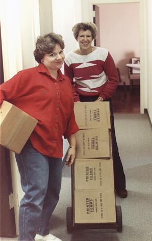 Pat Norris and Judy Bubenik