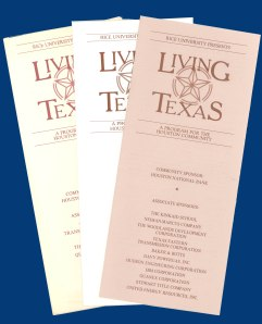 Living Texas Brochure