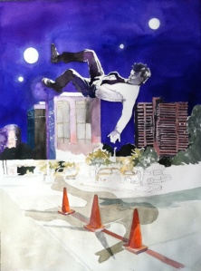 """Leap of Faith,"" by instructor Ellen Orseck."