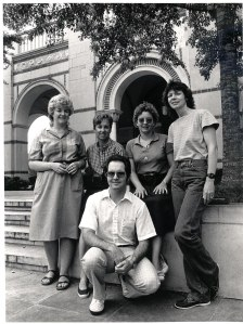 1983, Amanda Mitchell, Rosmarie Bogner, Katy Cox, Natrelle Young, Billy Tucker