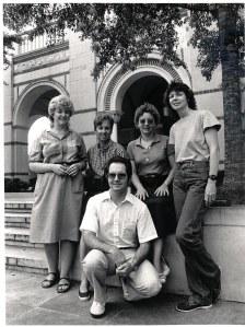 1983, Amanda Mitchell, Rosmarie Bogner, Katy Cox, Natrelle Young, Billy Tucker