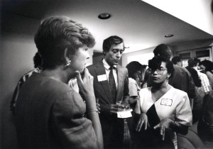 Mary McIntire and President Rupp