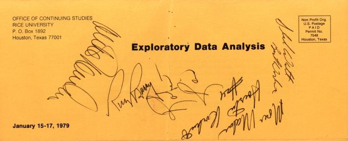 Rocket's Autographs-1979