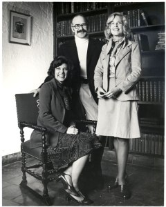 Patricia and Bill Martin, lecturers for Interpreting America, and Mary McIntire
