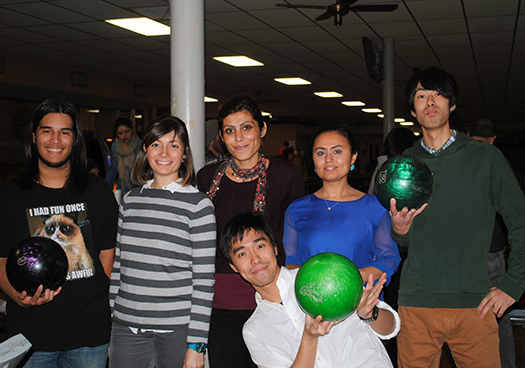 ESL holiday bowling