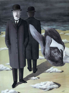 "René Magritte, ""The meaning of night,"" 1927, The Menil Collection"