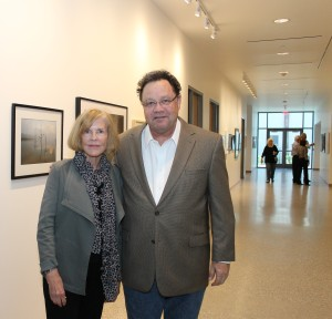 Dean Mary McIntire and Peter Brown