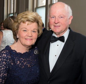 Susie and Mel Glasscock at Rice Alumni Awards Dinner