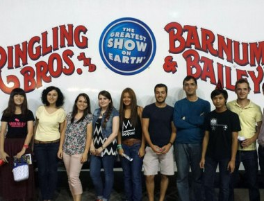 ESL Students Attend the Circus