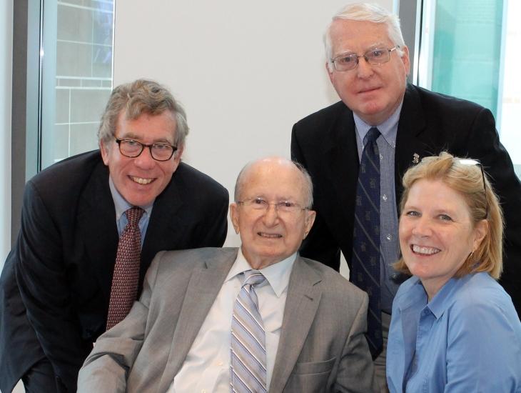 Chair Ed Segner, Hank Hudspeth, Dr. John Boles and Dr. Melissa Kean.