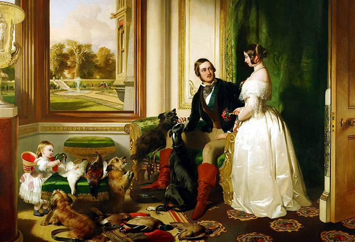queen-victoria-and-prince-albert-at-home-at-windsor-castle-in-berkshire-england-1843