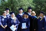 Spring 2014 MLS Graduation. Kristy Loye (far right).