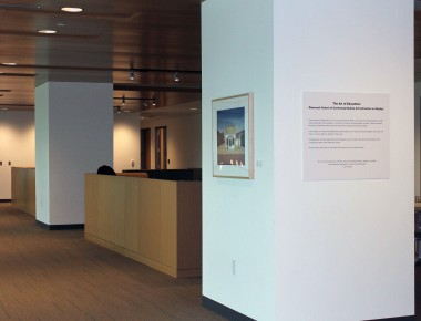 Image of the Instructor Art Gallery at the Anderson-Clarke Center