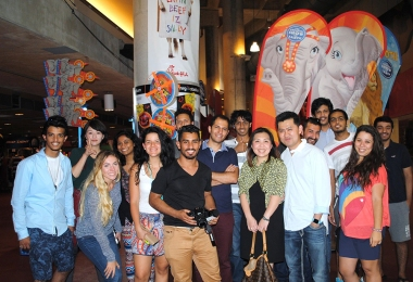 ESL Students Visit the Circus