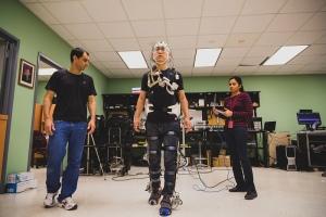 H2 smart powered robotic exoskeleton for stroke rehabilitation.