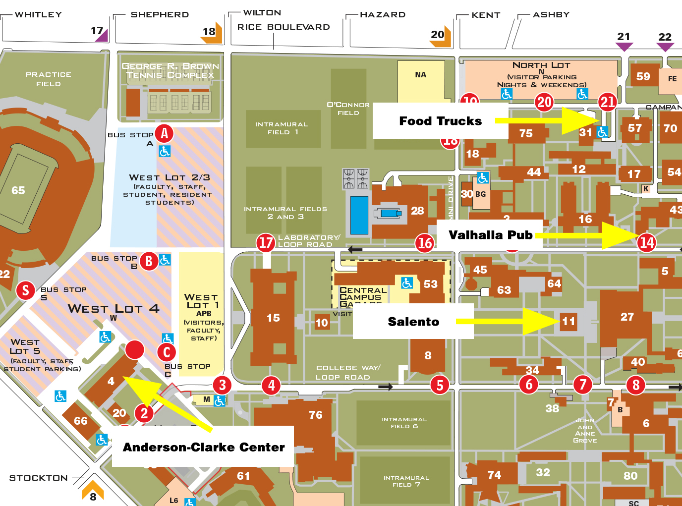 Campus Dining Options Susanne M Glasscock School Of Continuing